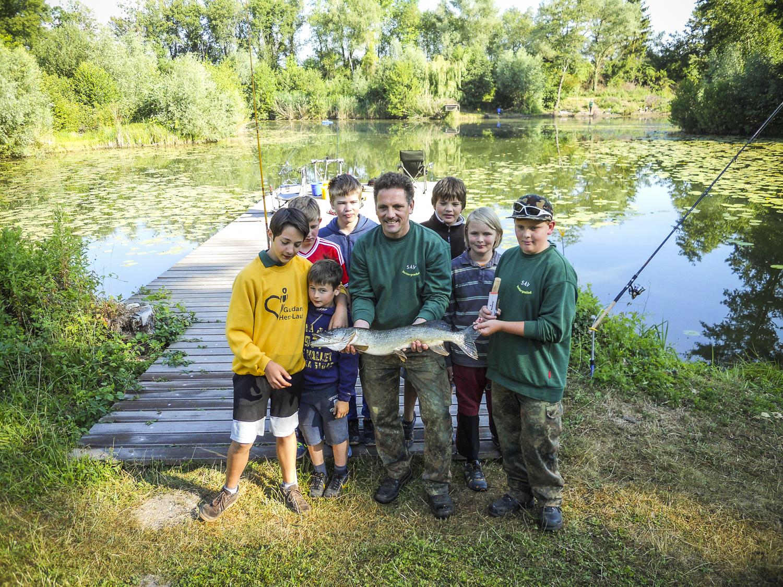 Königsfischen der Jugend am Grafsee vom 21. / 22. Juni 2014
