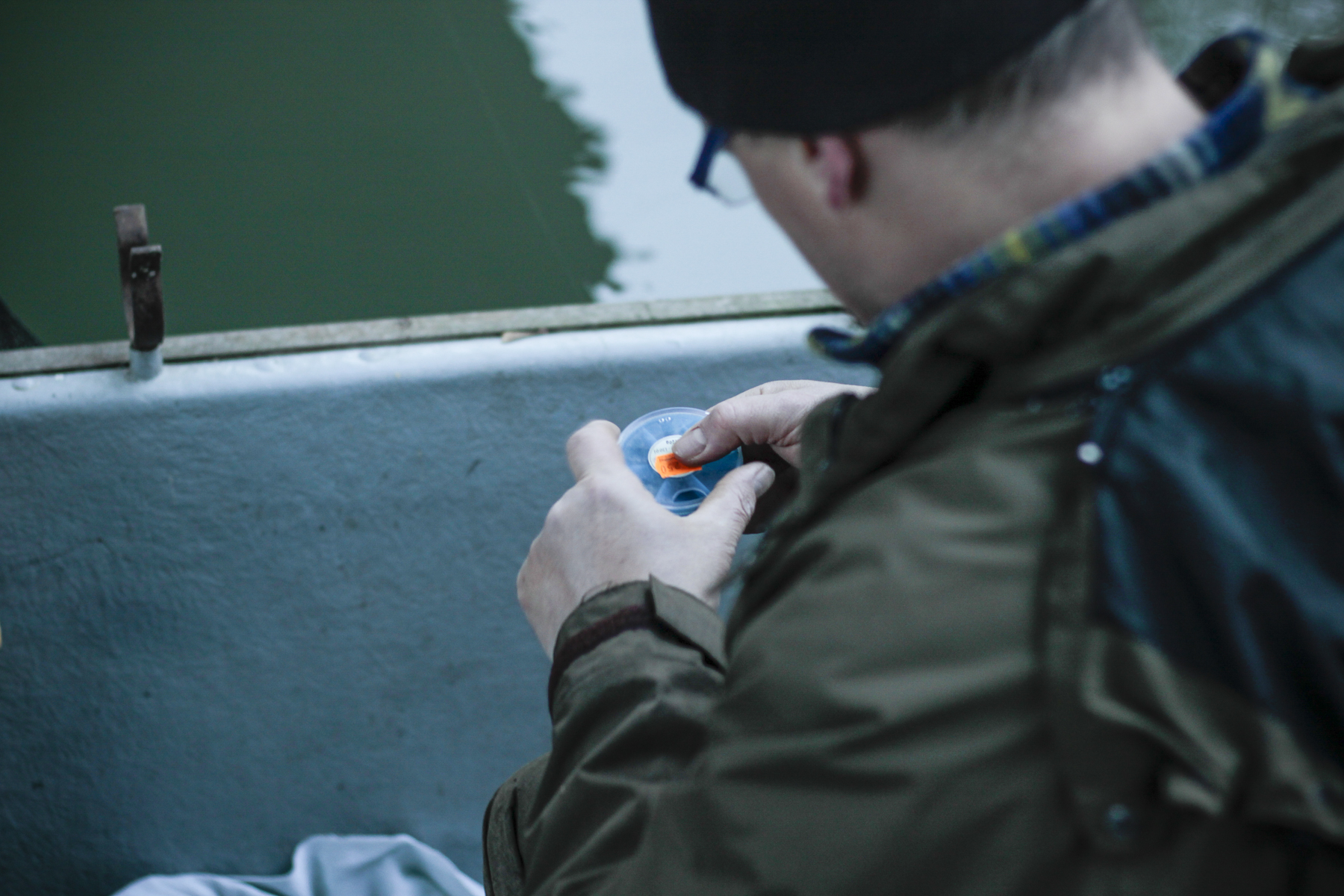 1 Rotaugenfischen an der Vereinsgewässer Elsenz