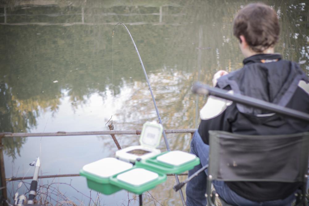 Rotaugenfischen der Jugend an der Elsenz