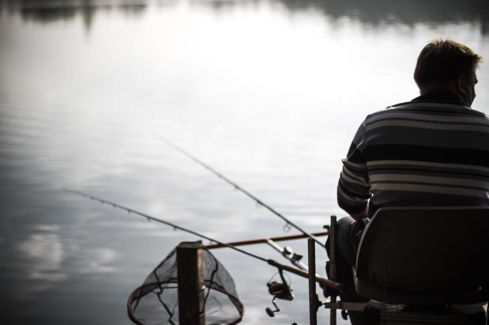 Vereinfischen am Wammsee bei Speyer