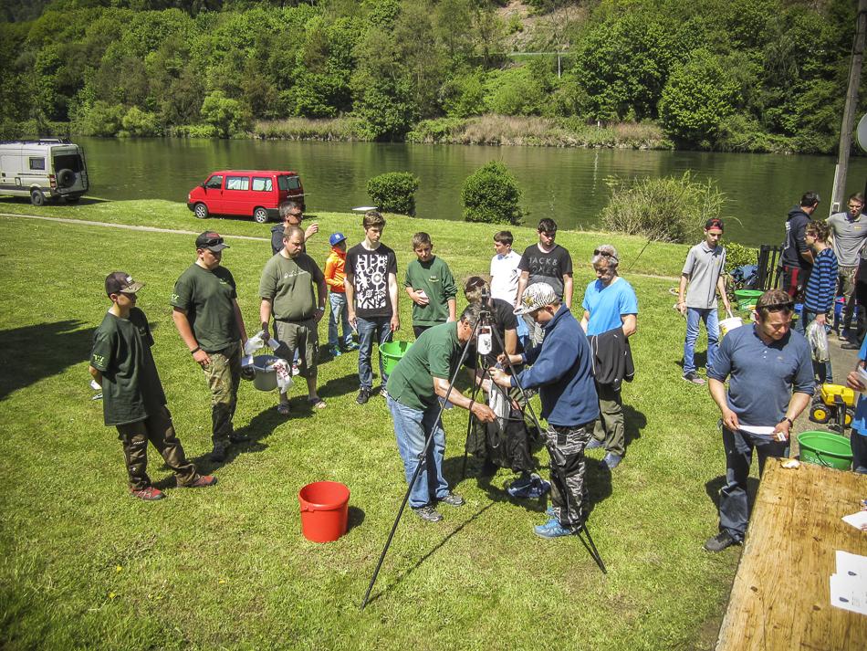 1. Jugendfischen des BSFV 2016